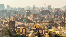 The talks between the French conglomerate and Egyptian authorities are being held in capital city Cairo